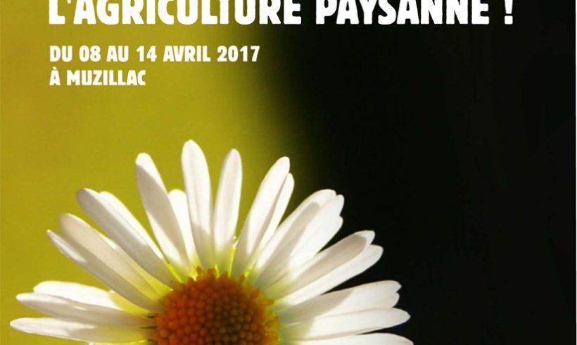 La semaine de l'agriculture paysanne à Muzillac