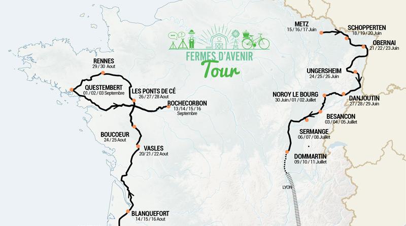 FERMES D'AVENIR – Tour de France – Questembert
