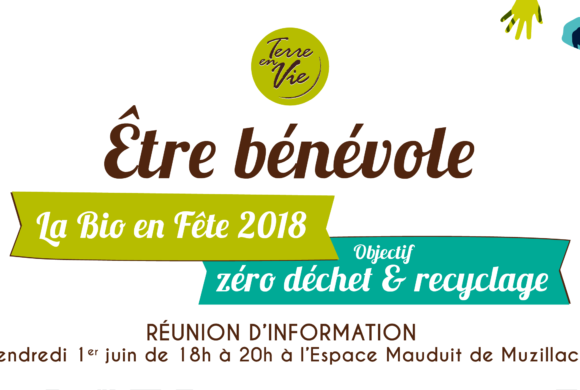Réunion d'information bénévoles pour le Foire Bio 2018