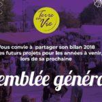 26/01/2018 : Assemblée Générale de Terre en Vie… suivie d'une «surprise» !