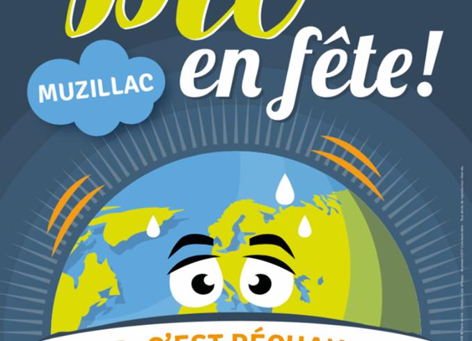 Affiche «La Bio en Fête» 2019 est arrivée !