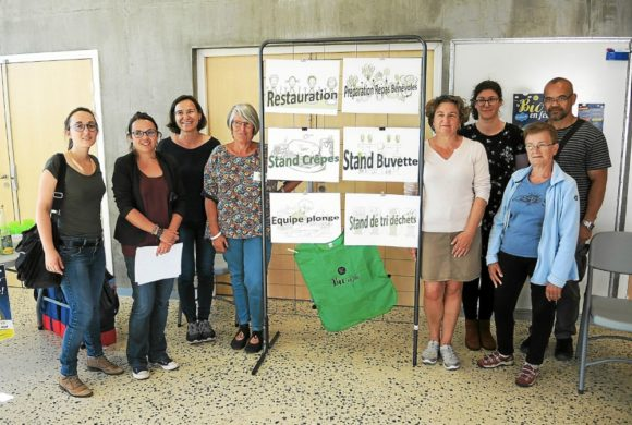 Première «permanence» pour les bénévoles de La Bio en Fête 2019