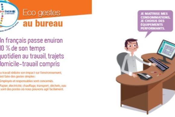 Double exposition : «les éco-gestes au bureau» & «Notre avenir énergétique»