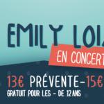 Emily Loizeau en concert à Lauzach